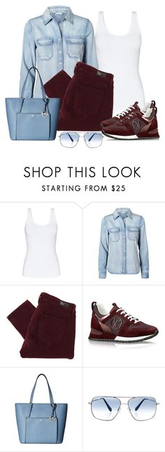"""""""Casual wear"""" by gallant81 ❤ liked on Polyvore featuring Talula, Vero Moda, Paige Denim, MICHAEL Michael Kors and Oliver Peoples"""
