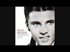 From 1959 here's Ricky Nelson with one of several hits he had that year - 'Never Be Anyone Else But You.'