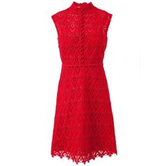 Get the look Kim Kardashian's red lace Valentino dress- our maternity... (665 MXN) ❤ liked on Polyvore featuring dresses and valentino