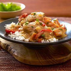 slow cooker coconut chicken stew