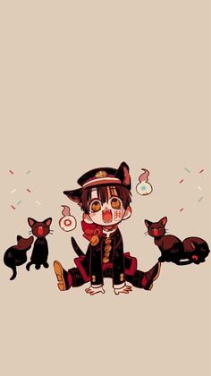 colourful hanako-kun wallpapers ♡ like if saved! ((All credit for artwork goes to Aida Iro, the wonderful and talented creator of Jibaku Shounen Hanako-Kun)) Otaku Anime, Anime Pro, Anime Chibi, Kawaii Anime, Manga Anime, Anime Angel, Animes Wallpapers, Cute Wallpapers, Animé Fan Art