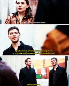 "GLORIOUS MURDER! #TheOriginals 2x18 ""Night Has A Thousand Eyes"" - Davina, Klaus and Mikael"
