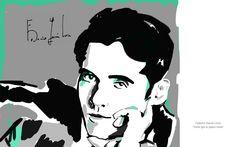 #Verdequetequieroverde #lorca #federico #poetry #spanish #newyork #art #design #illustration #gay #about.me #granada #andalucia
