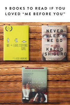 "9 Books to Read If You Loved ""Me Before You""  via @PureWow via @PureWow"