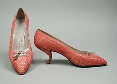 Roger Vivier, 1957    I can't get over the heel . . .