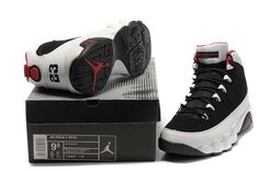 "new products 90612 24e56 Air Jordan 9 Retro ""Johnny Kilroy"" Black Metallic Platinum-Gym Red (Size  36~47)"