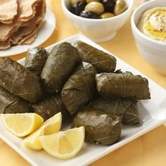 Lamb & Rice Stuffed Grape Leaves - EatingWell.com