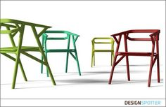 Products / A-CUT chair / DESIGNSPOTTER.COM