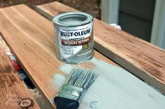 How to Make New Wood Look Old, Weathered and Rustic - Pretty Handy Girl