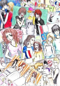 Rajzok Hanna, Teen Wolf, Vampire Diaries, Book Worms, My Books, Fanart, Random, Drawings, Creative
