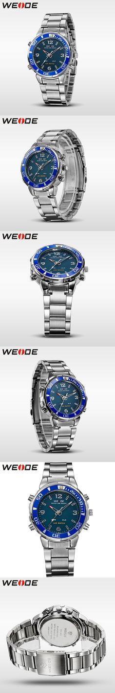 WEIDE Mens Watches Top Brand Luxury Sport Watch Men Quartz New Costly Army Military Waterproof Outdoor Relogio Masculino WH843