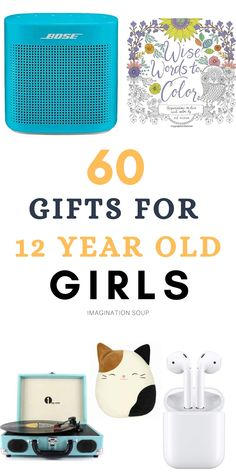 Gifts for 12-Year Old Girls | Imagination Soup Birthday Gifts For Girls, Girl Birthday, Birthday Ideas, Parent Gifts, Girl Gifts, Writing Lesson Plans, Writing Ideas, Cool Gifts For Kids, Lessons For Kids