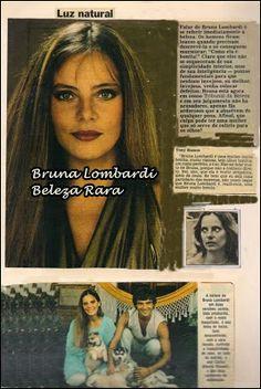 Bruna Lombardi- Beleza Rara