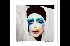"""The cover image from """"Applause,"""" #LadyGaga's first single from her new album ARTPOP. Shot by Inez van Lamsweerde and Vinoodh Matadin. #music #celebrity #entertainment #ast"""