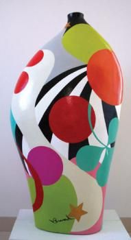 4 Eye-Opening Useful Tips: Geometric Vases Cactus white vases decor ideas.Old Vases Table Centerpieces. Pottery Painting, Pottery Vase, Ceramic Decor, Ceramic Vase, Paper Vase, Diy Paper, Clay Vase, Wooden Vase, Vase Shapes