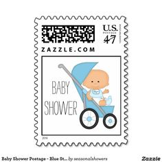 Add stamps to all your different types of stationery! Find rubber stamps and self-inking stamps at Zazzle today! Stork Baby Showers, Baby Boy Shower, Baby Shower Invitations For Boys, Self Inking Stamps, Announcement, Stationery, My Favorite Things, Postage Stamps, Designers