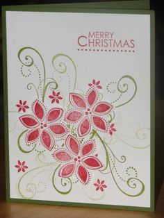Season of Joy, Stampin Up Christmas card