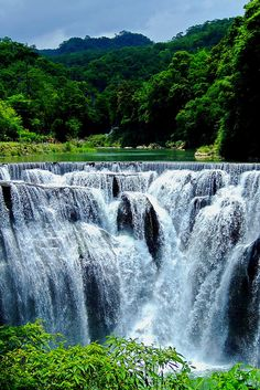 Shifen Waterfall in Taiwan