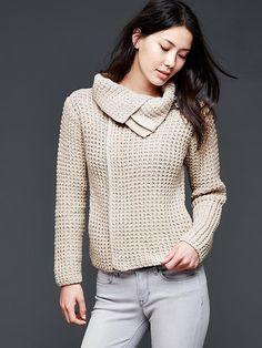 Moto sweater jacket -red mahogany, size medium.