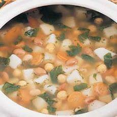Three-Bean Soup Recipe