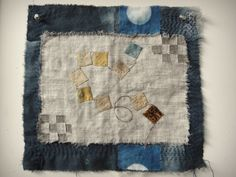 Jude Hill - Spirit Cloth  bunting? nine-patch squares?