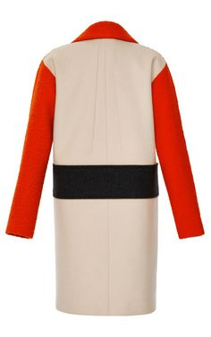 Astrakan De Laine Coat by Cédric Charlier for Preorder on Moda Operandi