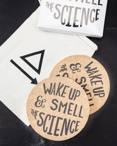 36a28506f9c Wake Up and Smell the Science Coasters - Cognitive Surplus - 1 Science  Teacher Gifts