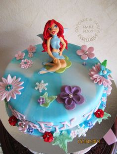 Pin And Winx Club Birthday Cake Cupcakes « Buttercup On Pinterest  more at Recipins.com