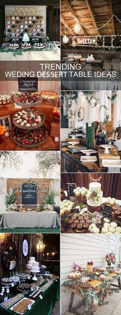 2017-trending-rustic-wedding-dessert-table-decoration-ideas.jpg 600×1,564 pixels