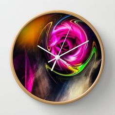 Society6 - Sunrise Wall Clock by Walter Zettl Society6 http://www.amazon.com/dp/B00X7HUPKS/ref=cm_sw_r_pi_dp_e9sHvb0JXVJMR