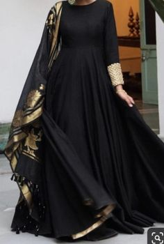 For more information DM📩 or call 03345222285 .we can customize any outfit the way you want to including colour, size, Embroidery, Designs and pattern. ✈Deliver worldwide Stitched and customized stitching. Pakistani Fashion Party Wear, Indian Fashion Dresses, Frock Fashion, Indian Gowns Dresses, Indian Designer Outfits, Pakistani Outfits, Dress Indian Style, Black Indian Gown, Indian Outfits