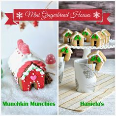 Mini Gingerbread House Collaboration with Haniela's  by Munchkin Munchies.