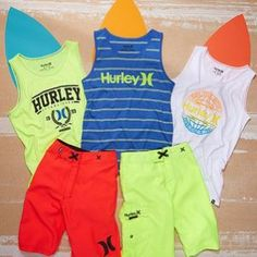 Save up to 70% on Hurley for boys!