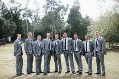 groomsmen - one leg forward