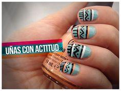 Tutorial: Ethnic Nails