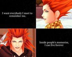 Axel/Lea - Kingdom Hearts