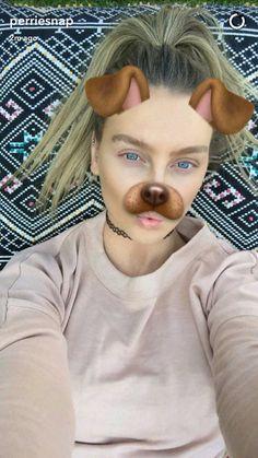 Perrie Edwards via Snapchat