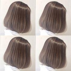 Short Bob Hairstyles, Hairstyles Haircuts, Cool Hairstyles, Hair Inspo, Hair Inspiration, Hair Color Asian, Hair Dye Colors, Ombre Hair, Hair Looks
