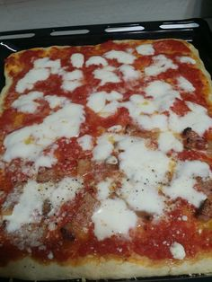 La ricetta con ingredienti e procedimento della pizza al taglio fatta in casa con il Monsieur Cuisine Connect e Monsieur Cuisine Plus Recipe Images, Lasagna, Connect, Ethnic Recipes, Tutorial, Video, Food, Home, Meal