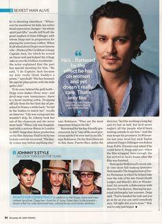 Johnny Depp People   Johnny Depp People Magazine