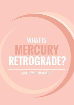 a guide to mercury retrograde