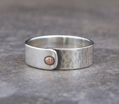 simple rivet ring