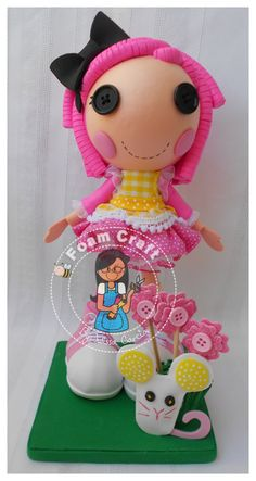 crumbs sugar cookie lalaloopsy foam doll by julissagarcia2 on Etsy, $19.95