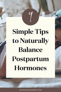 My simple tips for postpartum hormones imbalance and how to balance them naturally. As a new mama, prioritizing your rest, wellbeing and self-care during the first few months postpartum has a huge impact on your healing and recovery, working to balance your hormones and optimize your overall health. Try any of the simple steps listed in this post to support you on your path. #postpartum #hormones Fertility Food For Women, Fertility Foods, Holistic Nutritionist, Holistic Wellness, Seed Cycling, Estrogen Dominance, Low Testosterone, Clean Diet, Adrenal Fatigue