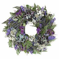 Preserved Lavender & Hydrangea Wreath