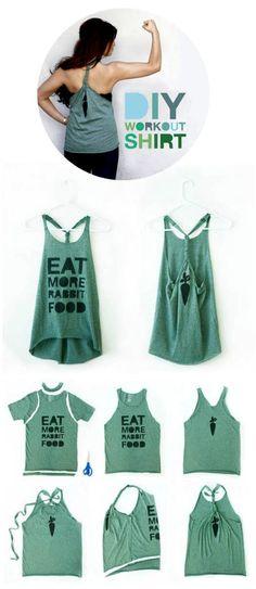 Riciclo creativo delle magliette