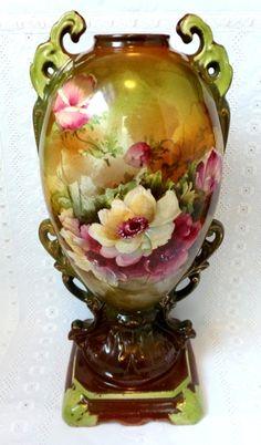 Victorian Floral Vase