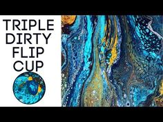 Canvas size is and I used 3 ounce cups for this dirty flip cup technique. Recommended Supplies for creating Fluid Painting Art and Acrylic Pouring Art. Acrylic Pouring Techniques, Acrylic Pouring Art, Acrylic Art, Flow Painting, Pour Painting, Zentangle, Fluid Acrylics, Resin Art, Paintings