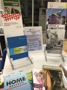 """""""Homekirjoja"""" Hyvinkään Laurea-kirjastossa. Tulossa: Arjen kemikaalit, uhka terveydelle -seminaari 2017, josta lisää https://www.facebook.com/ArjenKemikaalitUhkaTerveydelle2017/?ref=page_internal"""