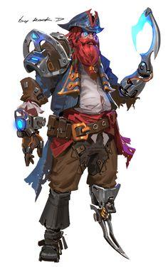 ArtStation - Pirate , Rock D